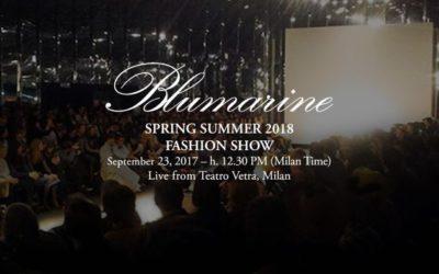Blumarine(ブルマリン)2018春夏コレクション・ランウェイショー ライブストリーミング