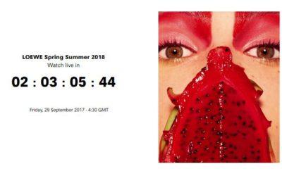 LOEWE(ロエベ)2018年春夏コレクション・ランウェイショー ライブストリーミング