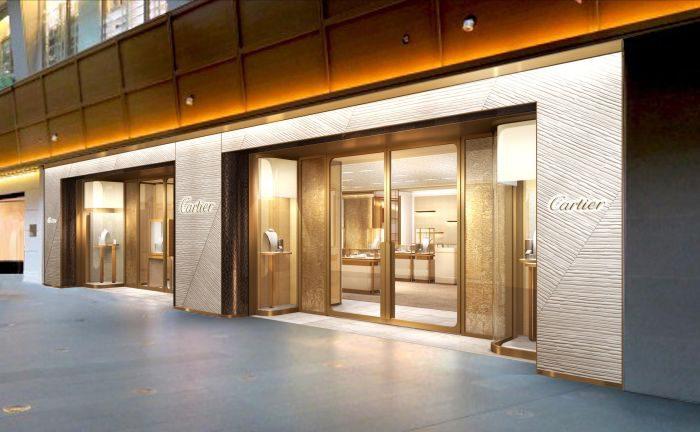 カルティエ ブティック 六本木ヒルズ店、期間限定ギャラリー「TANK 100」開催