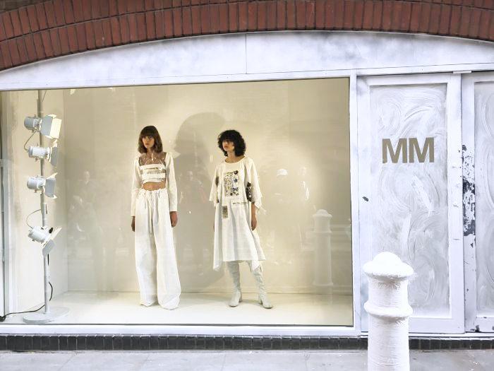 MM6 MAISON MARGIELA(エムエム6 メゾン マルジェラ)2018年春夏ロンドンコレクション