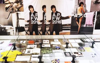 「A.P.C. TRANSMISSION BOOK PRESENTATION」レセプション デザイナーJean Touitou氏が来日
