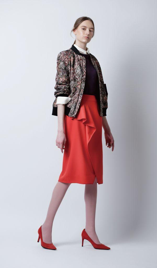 秋トレンド「赤」ファッション 初心者・中級・上級 着こなし術