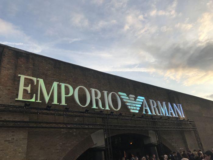 EMPORIO ARMANI(エンポリオ アルマーニ)2018年春夏ロンドンコレクション
