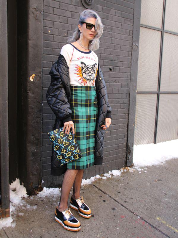 英国風「チェック柄」3アイテム ジャケット、スカート、パンツに注目