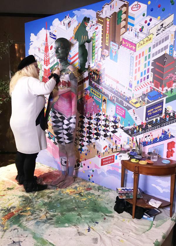 「alice + olivia(アリス アンド オリビア)」の日本上陸5周年パーティ