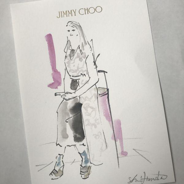 JIMMY CHOO(ジミー チュウ)銀座店のリニューアルオープン・パーティ