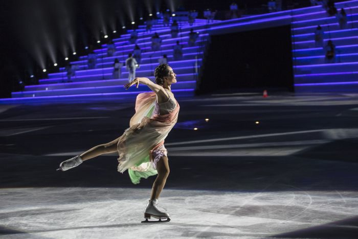 アイスショー「Intimissimi On Ice 2017」、ヴェローナ(イタリア)で開催