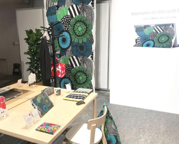 「Marimekko for Microsoft Surface」イベント マリメッコCEOのTiina Alahuhta-Kasko氏が来日