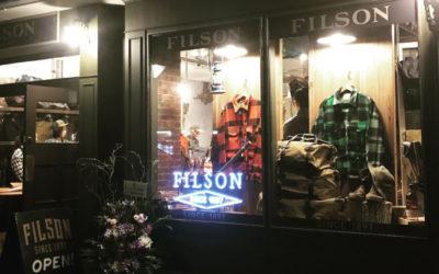 「FILSON Tokyo Store(フィルソン トウキョウ ストア)」がオープン