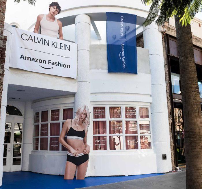 「カルバン・クライン × アマゾン・ファッション」ホリデー・リテイル・エクスペリエンスを発表