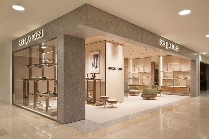 「Sergio Rossi(セルジオ ロッシ)」がそごう広島内にオープン 中国地方で唯一の直営店