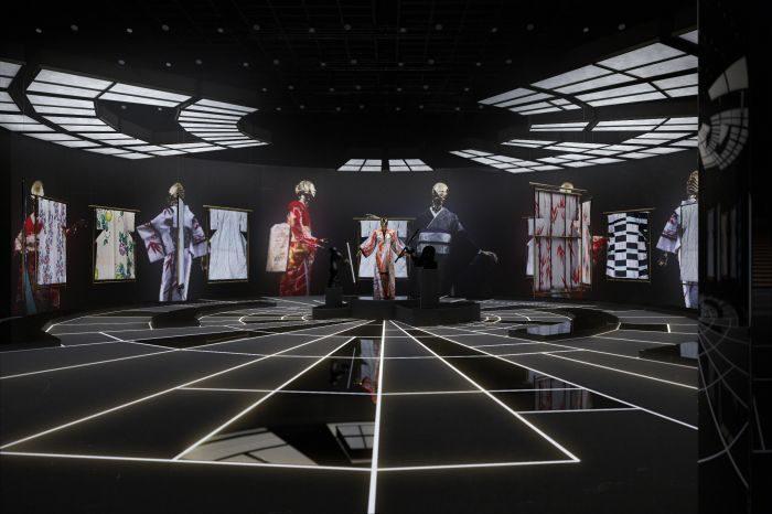 着物に新解釈を試みた展覧会「KIMONO ROBOTO」が表参道ヒルズで開催