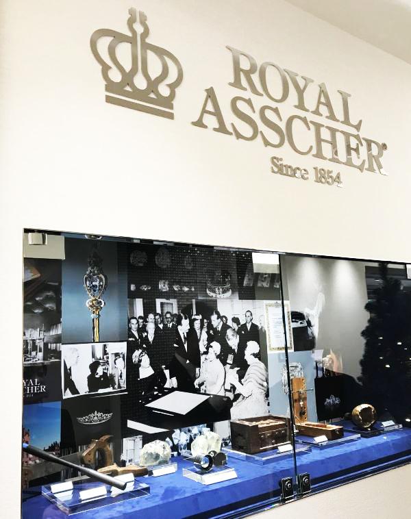 ROYAL ASSCHER DIAMOND(ロイヤル・アッシャー・ダイヤモンド)銀座店のオープニング