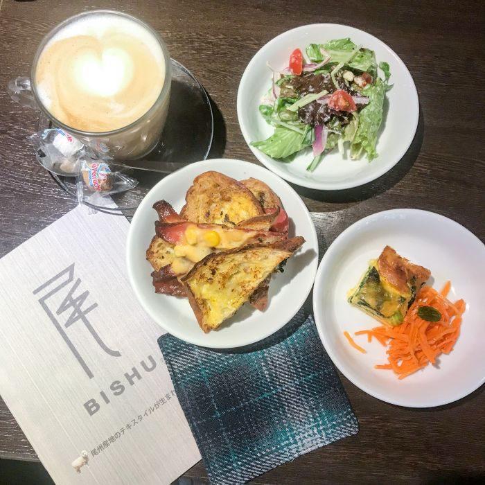 尾州(びしゅう)毛織物の魅力を発信する「BISHU CAFE(びしゅうかふぇ)」が期間限定でオープン