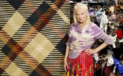 「Vivienne Westwood(ヴィヴィアン・ウエストウッド)」、「The Rug Company」の20周年記念ラグを制作