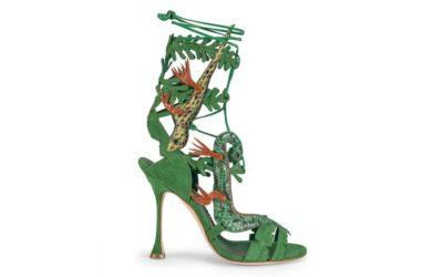 「マノロ ブラニク」、映画のために制作された靴が日本1足だけ販売