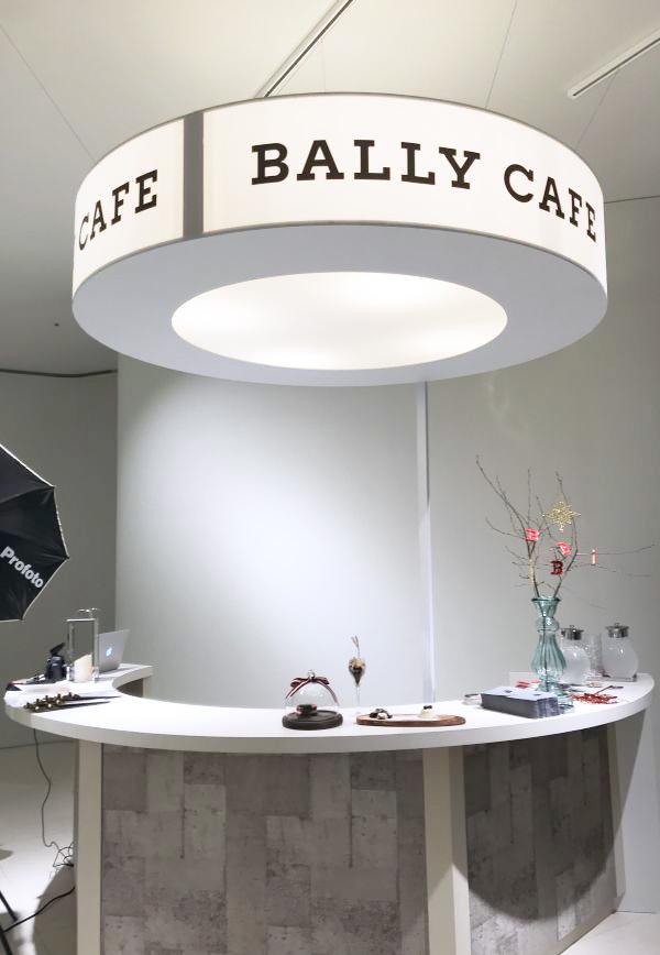 冬限定「BALLY CAFE(バリー カフェ)」がオープン