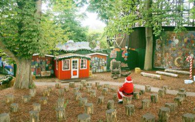 サンタクロースをテーマにした、角田明子写真展がGALLEY MUVEIL(ギャラリーミュベール)で開催