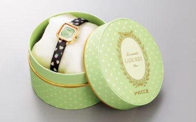 シチズン時計、「Les secrets LADURÉE(スクレ・ラデュレ)」とコラボレートしたウオッチを発売