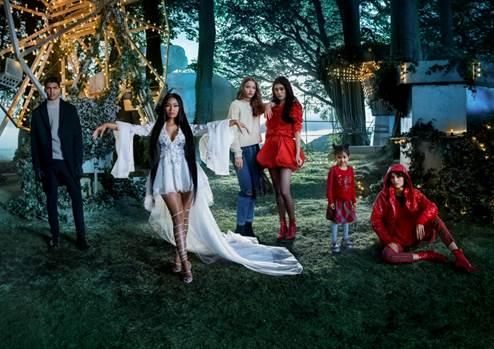 H&Mのホリデーキャンペーンムービーにニッキー・ミナージュが出演