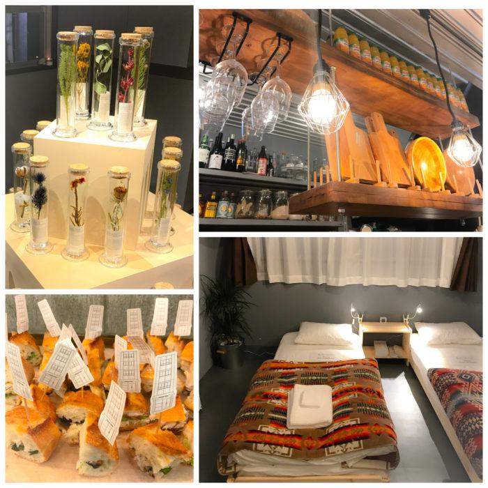 「食・装・泊」を兼ね備えた新空間「stopover tokyo(ストップオーバートーキョー)」のオープニングレセプション