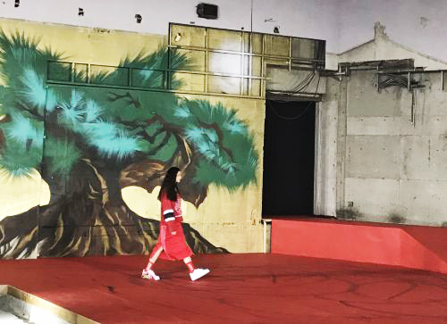 「BlackEyePatch(ブラックアイパッチ)」2018年春夏東京コレクション