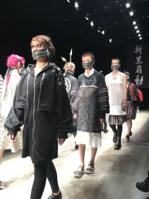 「ACUOD BY CHANU(アクオド バイ チャヌ)」2018年春夏東京コレクション