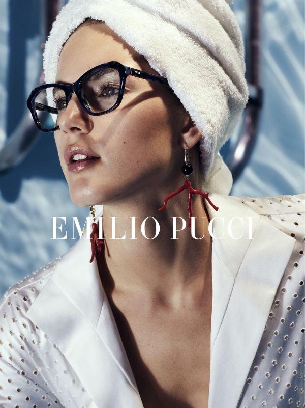 「EMILIO PUCCI(エミリオ・プッチ)」、2018年春夏の広告キャンペーンを発表