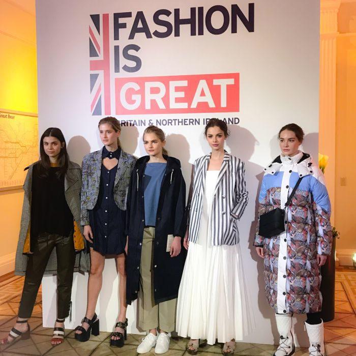 英国ウィメンズファッション展覧会 @ 英国大使館
