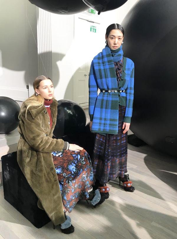 「MARKUS LUPFER(マーカス ルプファー)」2018-19年秋冬ロンドンコレクション