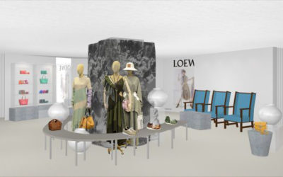 「LOEWE(ロエベ)」、三越日本橋本店で「ロエベ展」を開催 新作バッグも先行発売