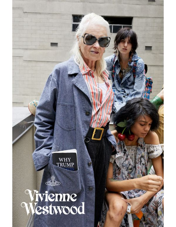 「Vivienne Westwood(ヴィヴィアン・ウエストウッド)」、2018年春夏シーズン向けの広告にクラブキッズを起用