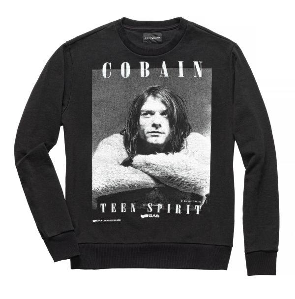 「GAS」、カート・コバーン写真のTシャツ、スウェットシャツを発売
