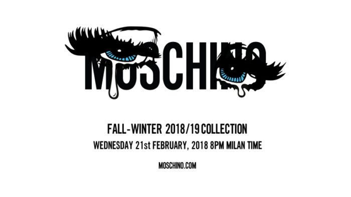 MOSCHINO(モスキーノ)2018-19秋冬コレクション・ランウェイショー ライブストリーミング
