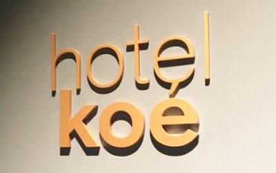 「hotel koe tokyo(ホテル コエ トーキョー)」オープンイングレセプション