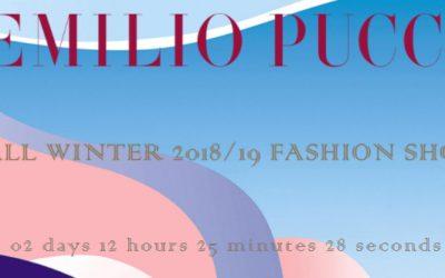 EMILIO PUCCI(エミリオ・プッチ)2018-19秋冬コレクション・ランウェイショー ライブストリーミング