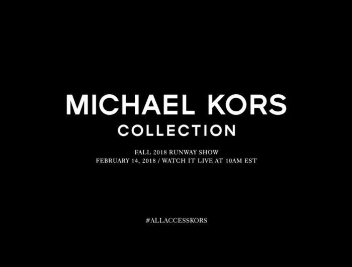 MICHAEL KORS COLLECTION(マイケル・コース コレクション)2018フォールコレクション・ランウェイショー ライブストリーミング