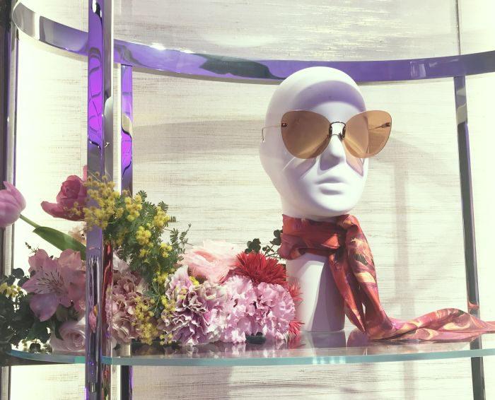 「Salvatore Ferragamo(サルヴァトーレ フェラガモ)銀座本店」でフラワー世界を満喫