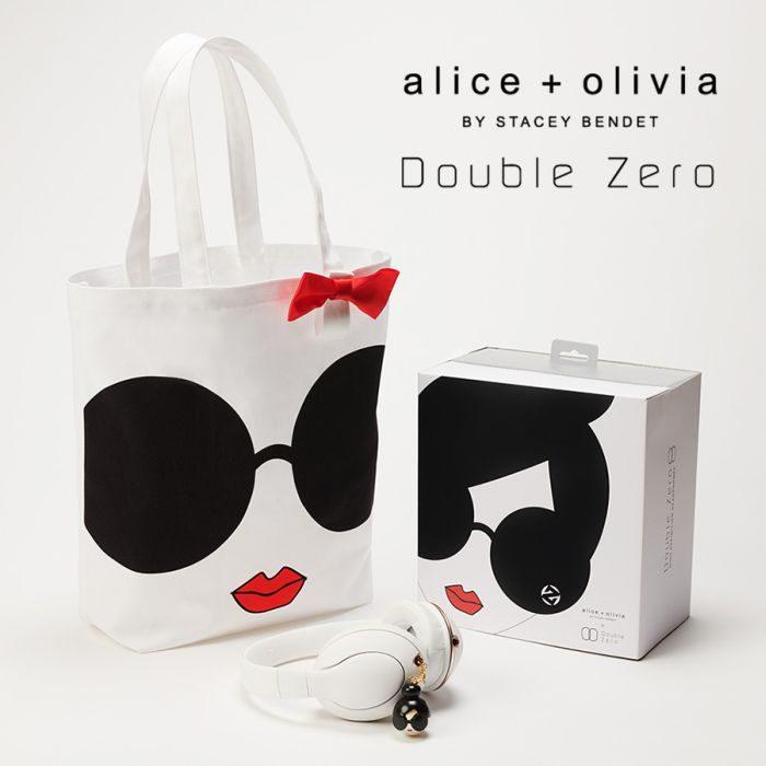 「alice + olivia x Double Zero」のコラボレーションアイテムが発売