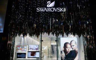 スワロフスキー銀座が10周年 イベントやプレゼントが盛りだくさん