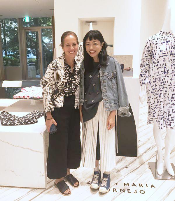 NY発「ゼロ マリア コルネホ」のデザイナー来日イベント @ バーニーズ ニューヨーク六本木店
