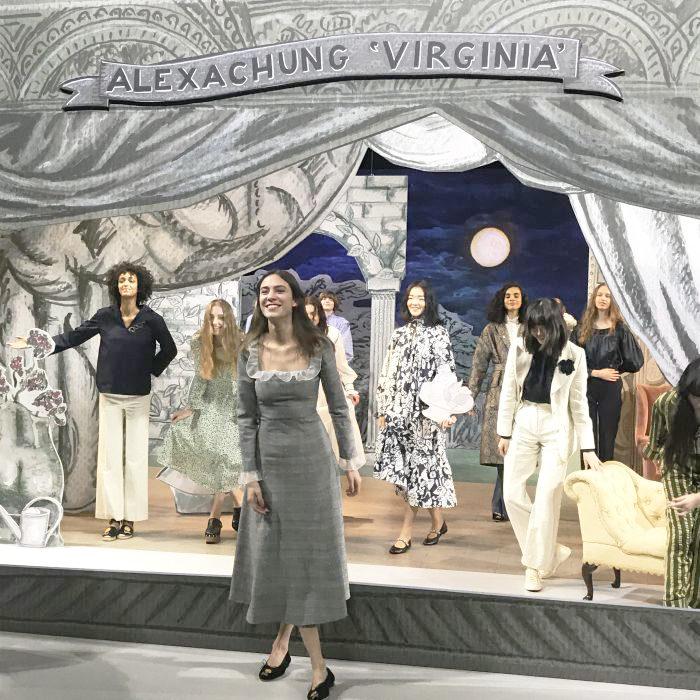 Alexa Chung(アレクサ・チャン)来日 新コレクション「VIRGINIA」プレゼンテーション