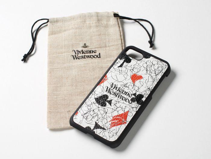 「Vivienne Westwood(ヴィヴィアン・ウエストウッド)」、メッセージプリント柄のiPhoneケース発売