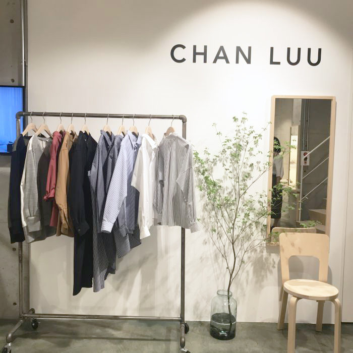 「CHAN LUU(チャン ルー)」のシャツ中心の新ウェアライン「CHAN LUU WHITE」ローンチイベント