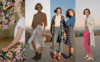 「定番柄」を今年らしく鮮度UP チェック、ストライプ、ドット、花柄…どう着る?