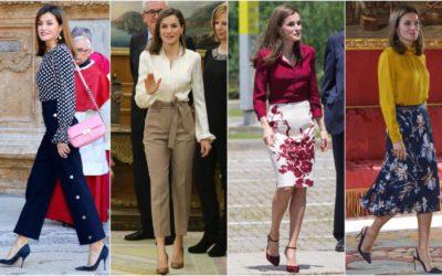 シャツより美しい!レティシア王妃に学ぶ「ブラウスのおしゃれな着こなし」4選