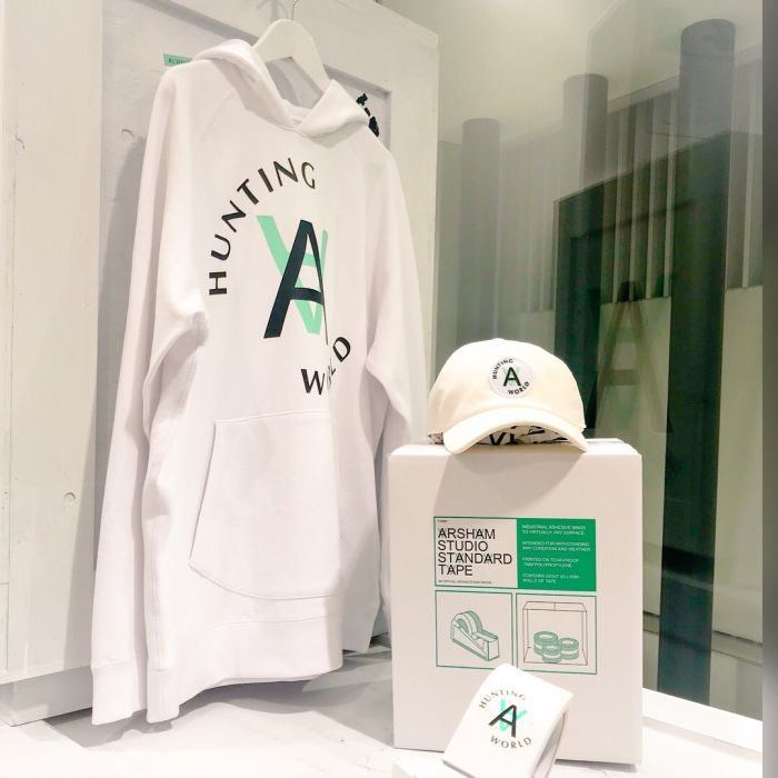 「HUNTING WORLD × Arsham Studio Standard Collection」ローンチイベント