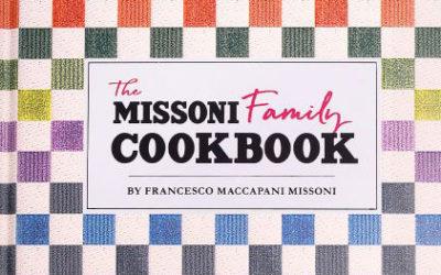 「MISSONI(ミッソーニ)」、ファミリーのレシピ本『MISSONI COOKBOOK』を出版