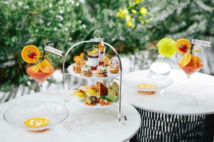 旬のフルーツを使った「コンブチャ」を楽しめるフェア、「ELLE cafe」で開催 モナコとのコラボも