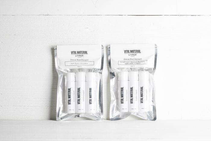 オーガニックライフスタイルブランド「VITAL MATERIAL(ヴァイタル マテリアル)」からデリケート衣類用洗剤が発売